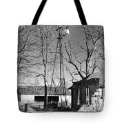 Left Standing Tote Bag