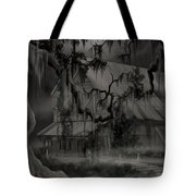 Legend Of The Old House In The Swamp Tote Bag
