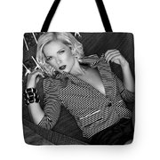 Leisure Class Bw Tote Bag