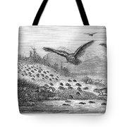 Lemming Migration Tote Bag