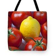 Lemon And Tomatoes Tote Bag