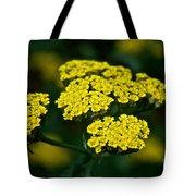 Lemon Lace Tote Bag