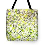 Lemon Lime Abstract Tote Bag