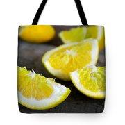 Lemon Quarters Tote Bag