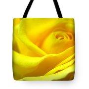 Lemon Yellow Rose Tote Bag