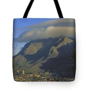Lenticular Cloud Over Table Mountain Tote Bag