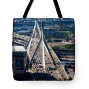 Leonard Yakim Bunker Hill Memorial Bridge Tote Bag