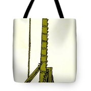 Leonardo Da Vincis Lifting Gear Tote Bag