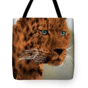 Leopard - Featured In The Group Wildlife Tote Bag