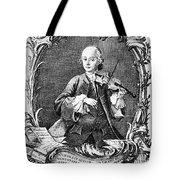 Leopold Mozart (1719-1787) Tote Bag