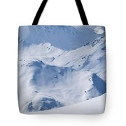 Les Arcs, France Tote Bag