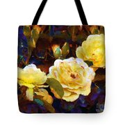Les Roses Sauvages Tote Bag