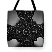 Let Mercy Reign Bw Tote Bag