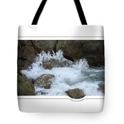 Let The Rivers Clap Their Hands Tote Bag