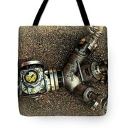 Let The Water Flow Tote Bag