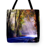 Let Your Light Shine Down On Me Tote Bag