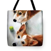 Let's Play Please Tote Bag