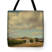 Let's Run Through The Orchard Tote Bag