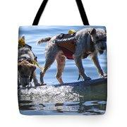 Let's Surf Dude Tote Bag
