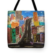 Let's Turn Up This Street Tote Bag