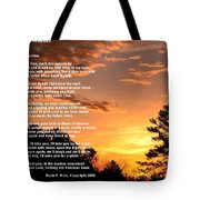 Letter To Grandma Tote Bag