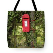 Letterbox In A Hedge Tote Bag