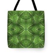 Lettuce Live Green  Tote Bag