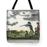 Lewis & Clark: Native American, 1811 Tote Bag