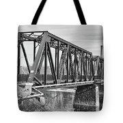 Lewiston-auburn Railroad Bridge Tote Bag