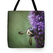 Liatris And Bee Squared 2 Tote Bag