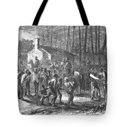 Liberating Slaves, 1864 Tote Bag