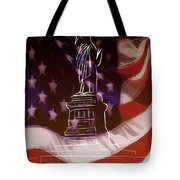Liberty For All Tote Bag
