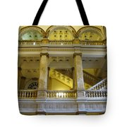 Library 5 Tote Bag
