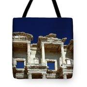Library Of Celsus In Ephesus Tote Bag