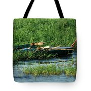 Life Along The Nile Tote Bag