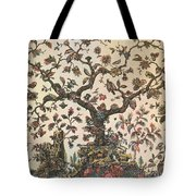 Life As A Tree 18th Century Tote Bag by Science Source