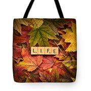 Life-autumn Tote Bag
