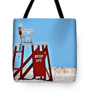 Life Guard Stand Tote Bag