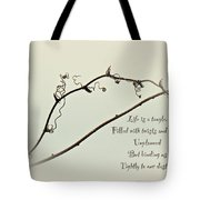 Life Is A Tangle Tote Bag