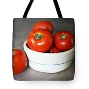 Life Is Not A Bowl Of Cherries - Life Is A Bowl Of Tomatoes Tote Bag