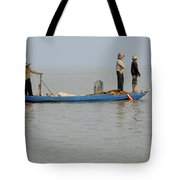 Life On Lake Tonle Sap 5 Tote Bag
