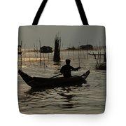 Life On Lake Tonle Sap 7 Tote Bag