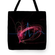 Life Signs Tote Bag
