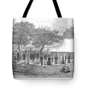 Life-sized Chess, 1882 Tote Bag