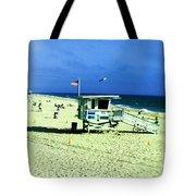 Lifeguard Shack Tote Bag