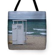 Lifeguard Station At The Beach Tote Bag