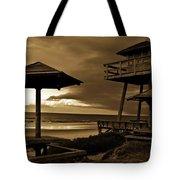 World War II Coastal Watchtower Tote Bag
