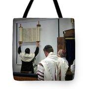 Lift Up The Torah Tote Bag