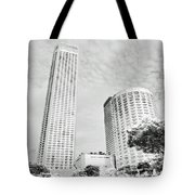 Light And Perspective Tote Bag