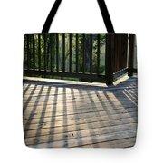 Light And Shadow Tote Bag